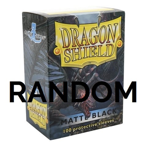Dragon Shield Sleeves - Matte - Standard Size - Random Color - 100 count