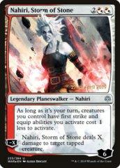 Nahiri, Storm of Stone - WAR Prerelease - Foil