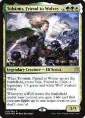 Tolsimir, Friend to Wolves - WAR Prerelease - Foil
