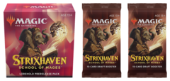 Strixhaven: School of Mages - Lorehold Prerelease Pack plus 2 Draft Boosters