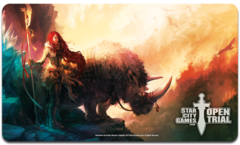 StarCityGames SCG Open Trial Spring 2013 Playmat - Sharing the Burden