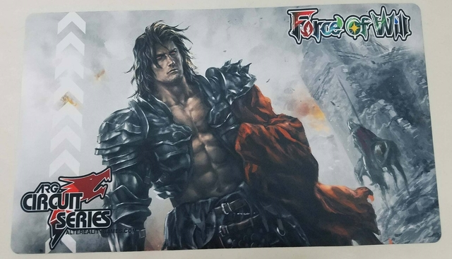 Force of Will TCG ARG Circuit Series Playmat