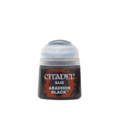 Base: Abaddon Black (12ml)