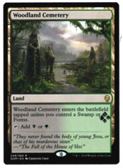 Woodland Cemetery - Dominaria - STAMPED
