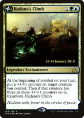 Hadana's Climb // Winged Temple of Orazca - RIX Prerelease