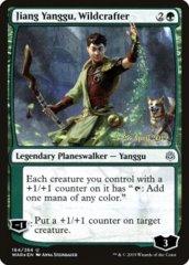 Jiang Yanggu, Wildcrafter - WAR Prerelease - Foil