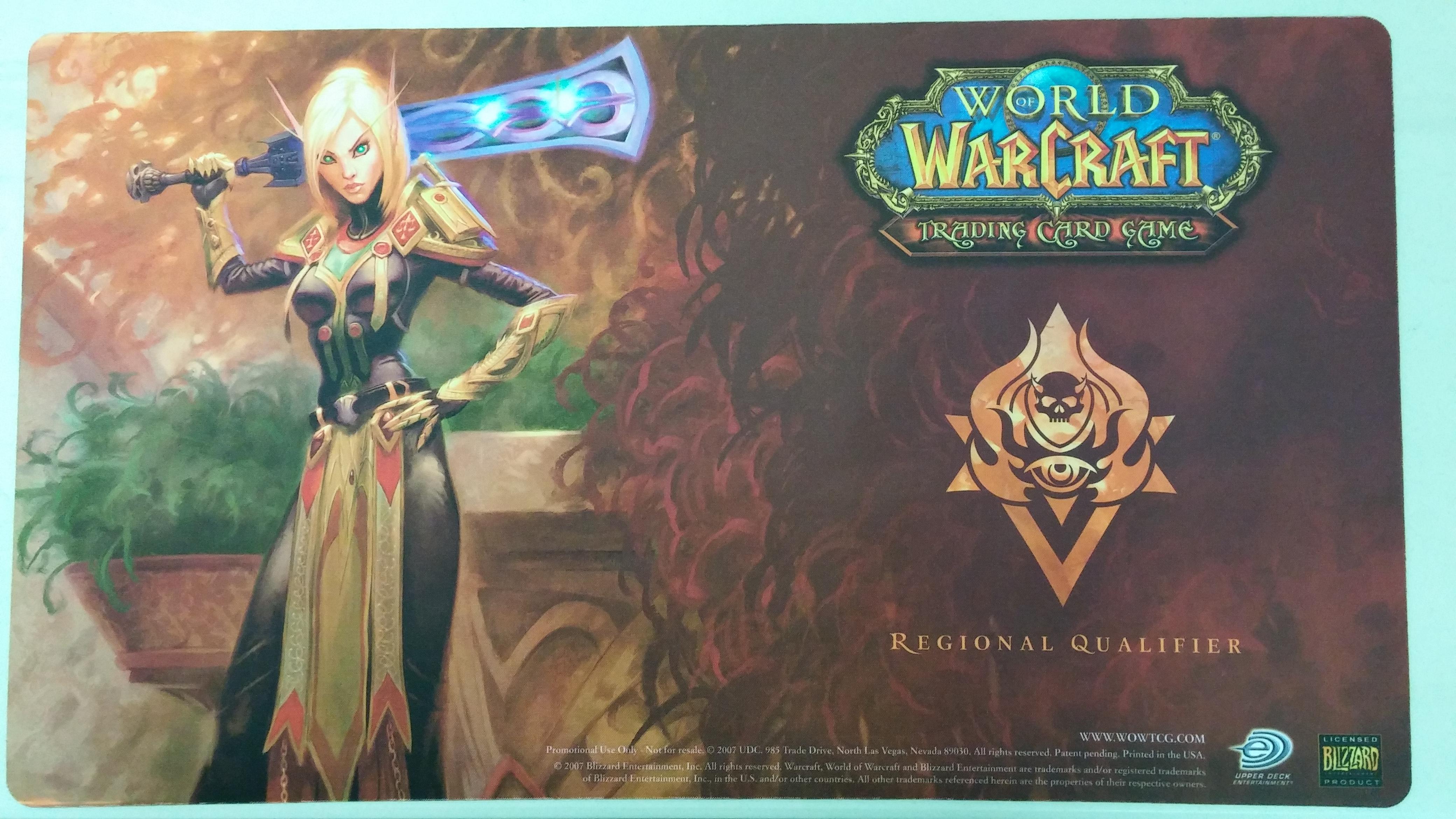 World of Warcraft Blood Elf Paladin Regional Qualifier