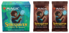 Strixhaven: School of Mages - Quandrix Prerelease Pack plus 2 Draft Boosters