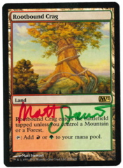 Rootbound Crag (2) - Magic 2012 - Signed by artist Matt Stewart