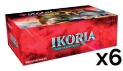Ikoria: Lair of Behemoths Booster Case (6 boxes)