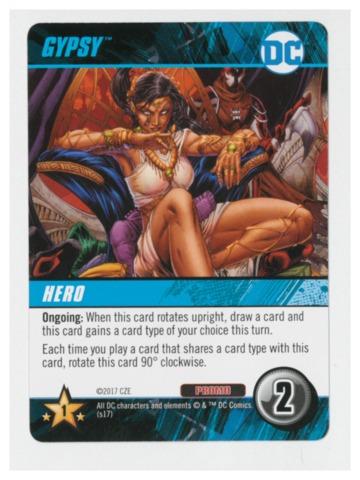 DC Comics Deck-Building Game: Gypsy promo