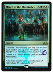 March of the Multitudes - Foil - Guilds of Ravnica - STAMPED