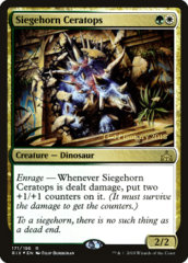 Siegehorn Ceratops - RIX Prerelease