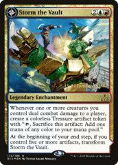 Storm the Vault // Vault of Catlacan - RIX Prerelease