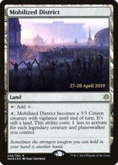 Mobilized District - WAR Prerelease - Foil
