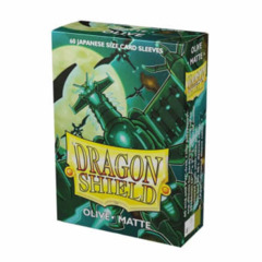 Dragon Shield Sleeves: Japanaese Matte Olive (Box of 60)