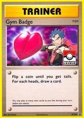 Gym Badge (Koga) - XY207 - 2017 Pokemon League Exclusive