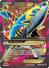 Mega-Sharpedo-EX - XY200a Alternate Promo