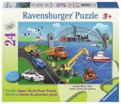 24 piece puzzle: A Day on the Job