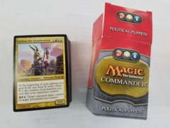 Commander - Political Puppets Deck [OPENED]