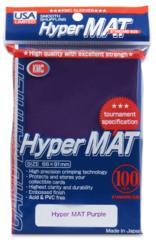 KMC Hyper Mat Purple Sleeves (100 ct)