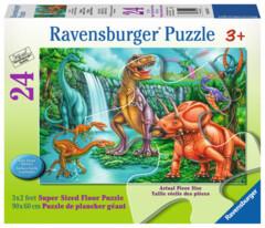 24 piece puzzle: Dino Falls
