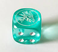 Dragons of Legend: The Complete Series Collectible Dice BLUE