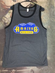 Dark Gray Men's Tanktop