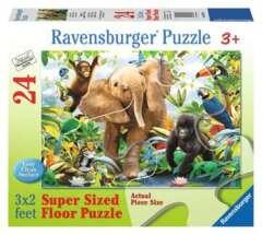24 piece puzzle: Jungle Juniors