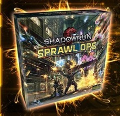 Shadowrun Sprawl Ops - kickstarter edition + Expansion