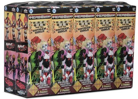 DC Comics HeroClix: Harley Quinn and the Gotham Girls Booster Brick