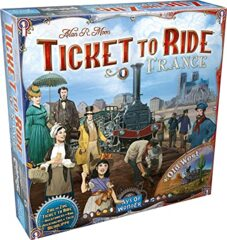Ticket to Ride - France + Old West Expanson