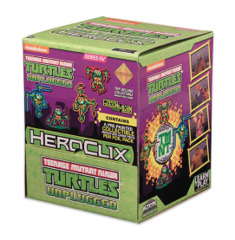 HeroClix - Teenage Mutant Ninja Turtles: Unplugged Gravity feed