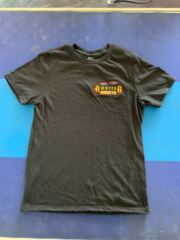 Youth Black T-Shirt Logo