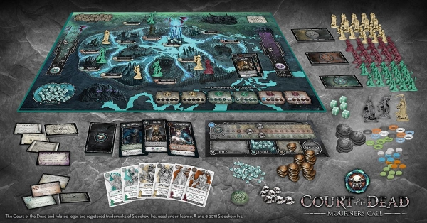 Court of the Dead: Mourners Call - Faction of Bone Cover