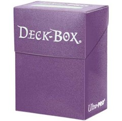 Ultra Pro Purple Deck Box