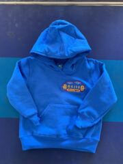 Toddler Blue Pullover Hoodie Logo