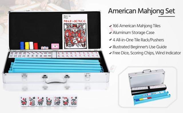 Mah Jongg Aluminum Case