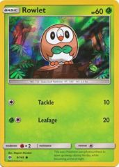 Rowlet - Water-Web Holo Exclusive