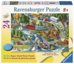 24 piece puzzle: Vacation Hustle