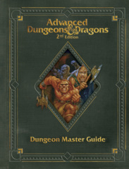 AD&D 2E Dungeon Master Guide (Limited Edition Premium Covered)