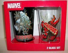 Marvel Deadpool 2-pack Pint Glasses
