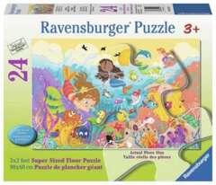 24 piece puzzle: Splashing Mermaids