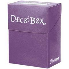 Ultra Pro Plum Deck Box