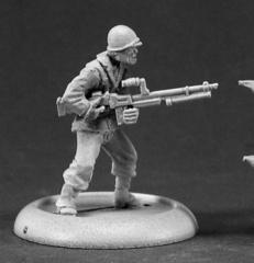 GI w/Browning Auto Rifle