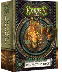 Minions Faction Deck 2016