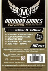 Mayday Games Premium Magnum Copper Ultra-Fit Game Size Sleeves 80ct