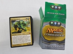 Commander - Devour for Power Deck [OPENED]