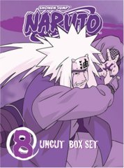 Naruto Uncut Box Set Volume 8 (DVD)