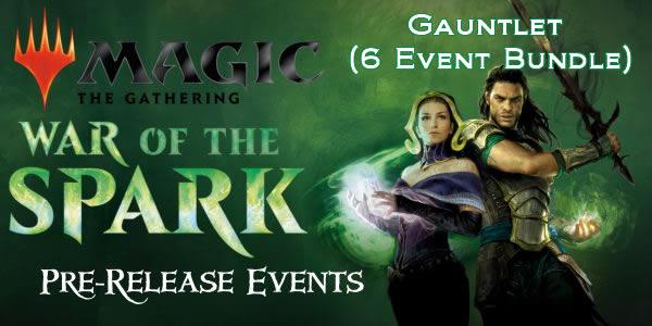 War of the Spark PreRelease 6 Event Gauntlet